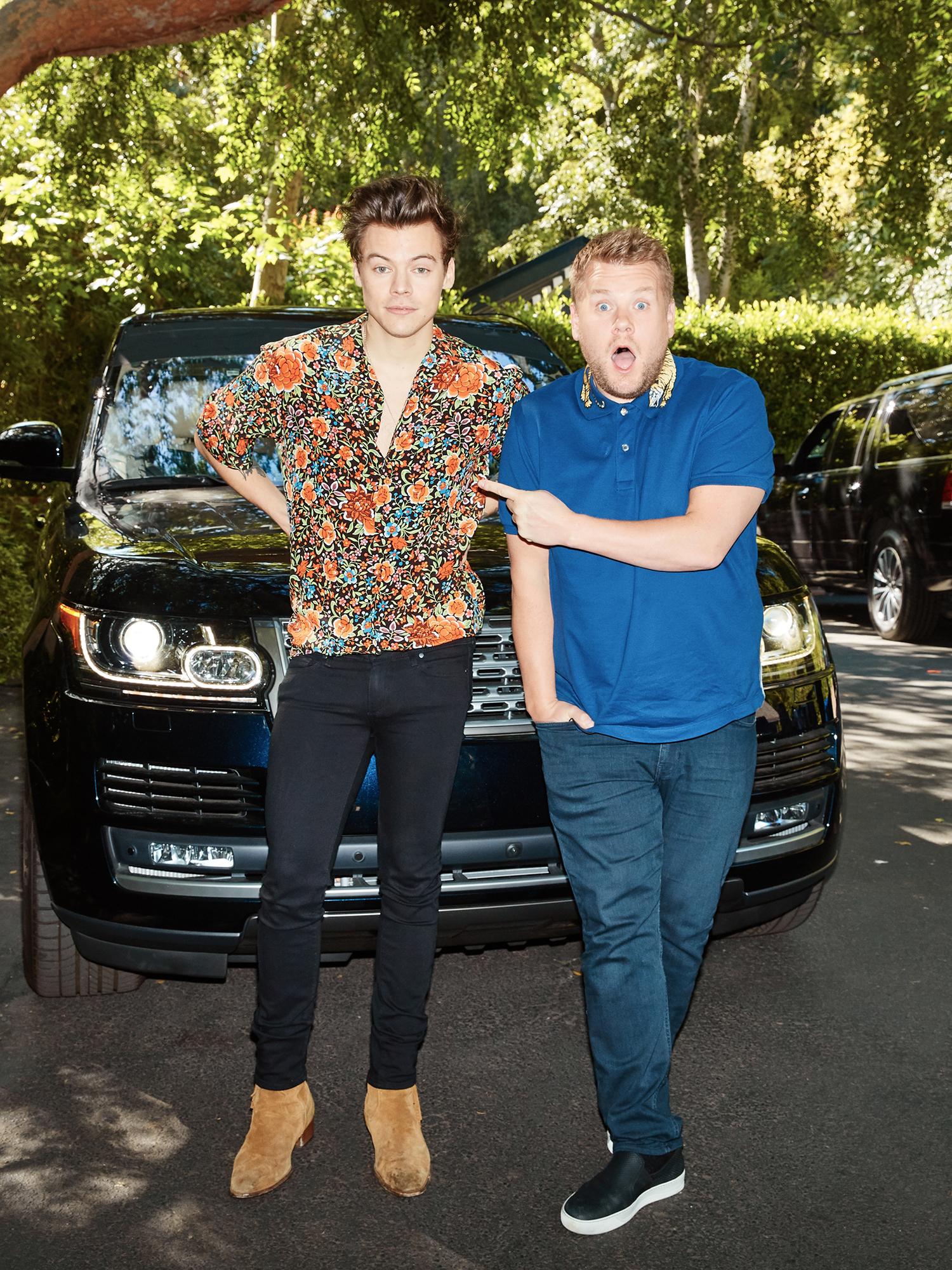 See Harry Styles Belt Outkast S Hey Ya On Carpool Karaoke