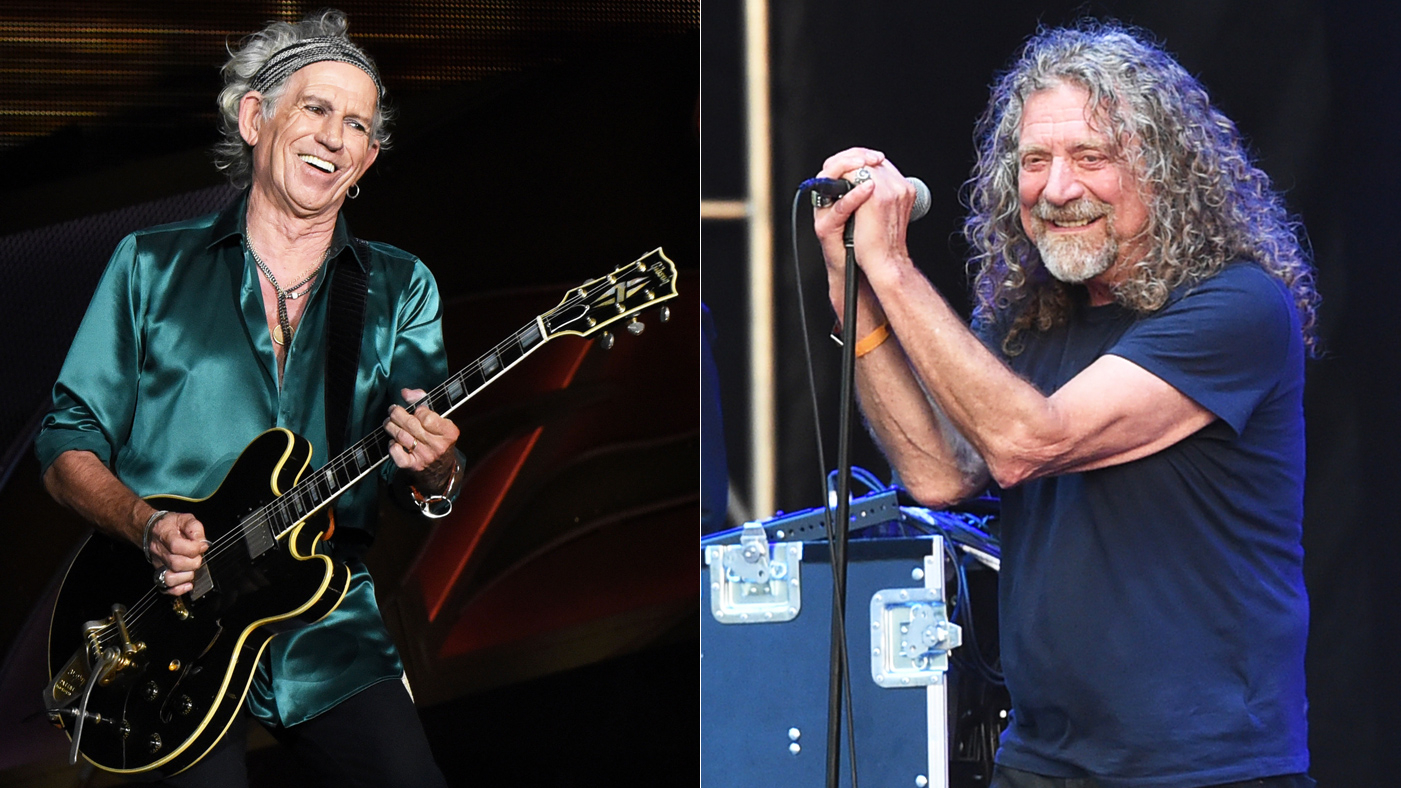Keith Richards, Robert Plant Lend Support to 'We Are Not Afraid' Campaign