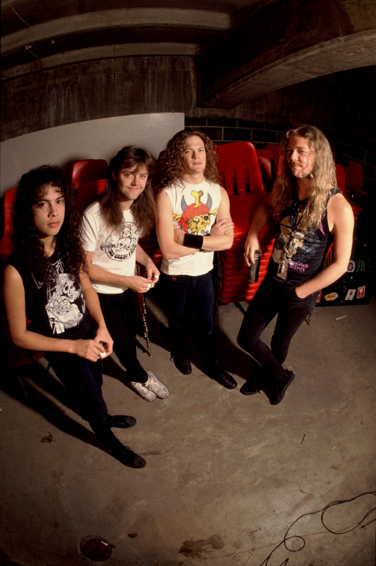 Metallica Damaged Justice Tour
