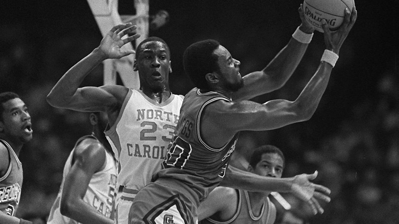 fee7c8dee13378 Flashback  Michael Jordan Begins Legendary Rise With Game-Winning NCAA  Championship Shot