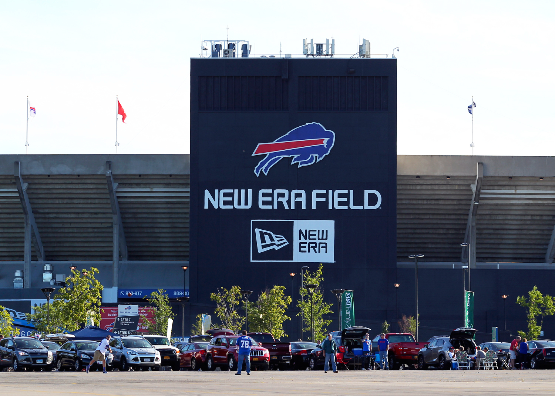 new product db8ba fac09 Buffalo Bills Stadium, New Era Buffalo, New Era Bills, Rust Belt sports,.  Known for the iconic 59Fifty hat ...