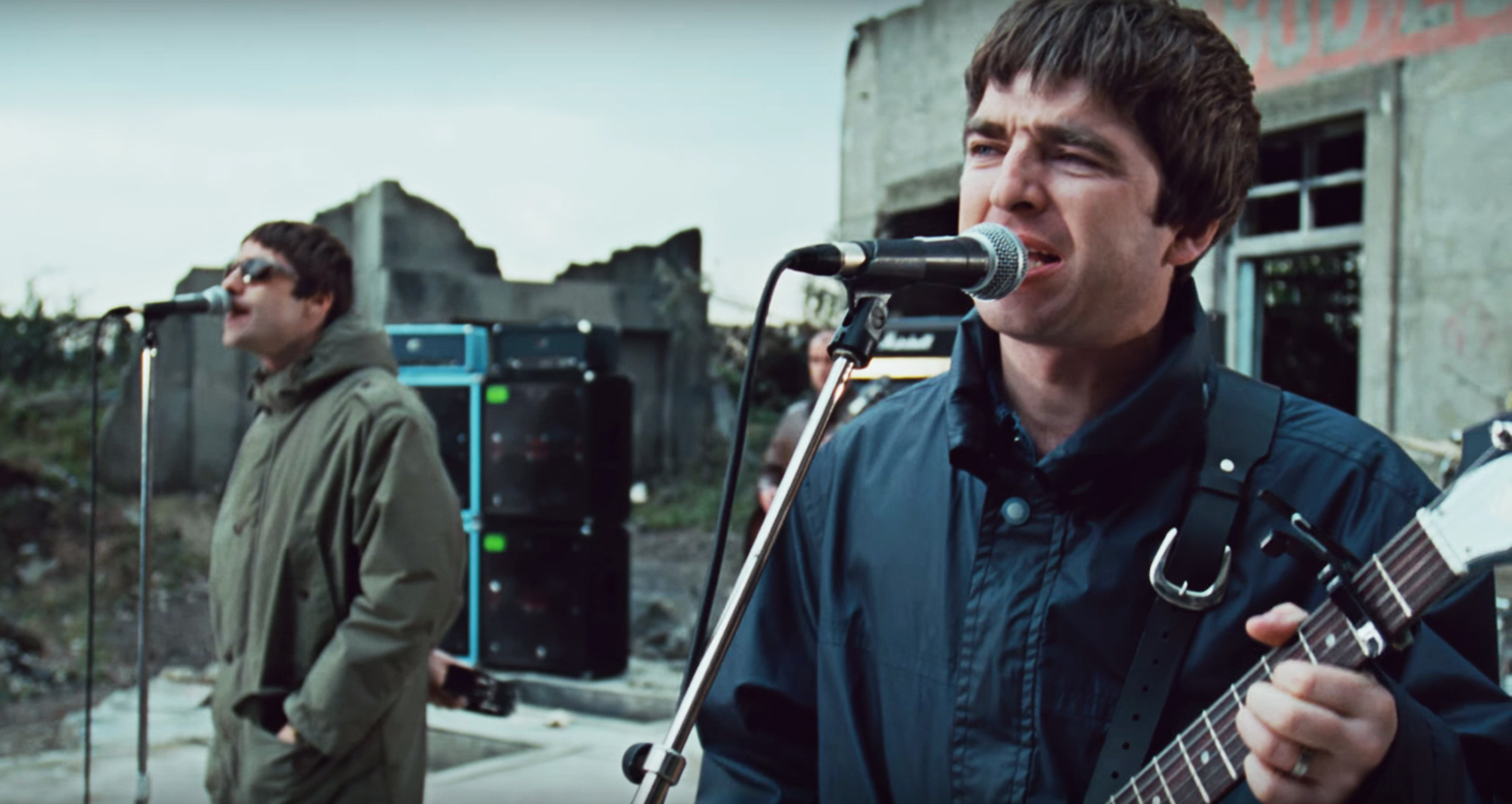 927ab39ca4b2 Watch New Version of Oasis' 'D'You Know What I Mean?' Video – Rolling Stone