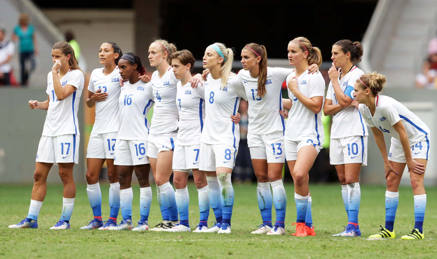 3a83af0cc Rio Olympics  U.S. Women s Soccer Shocks With Loss to Sweden ...