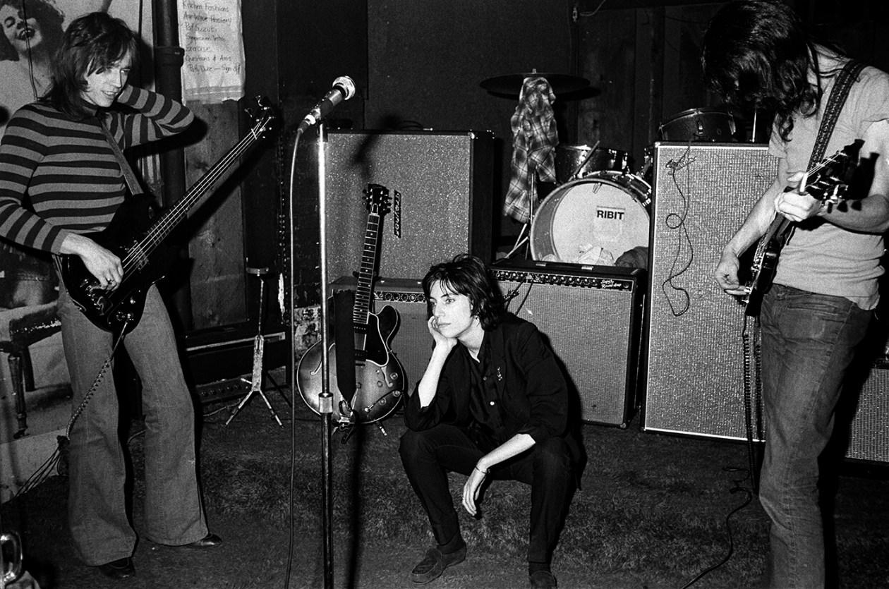 Patti Smith CBGB 1975