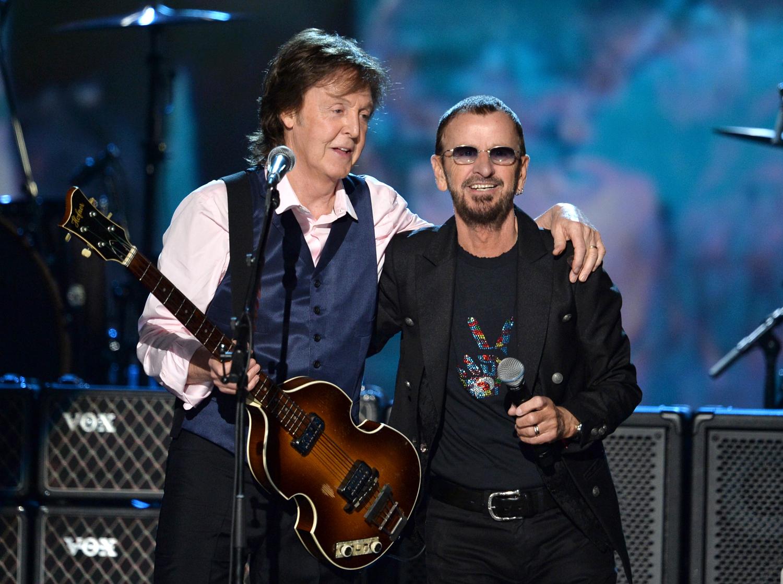 Change Begins Within Beatles Ringo Starr Paul Mccartney