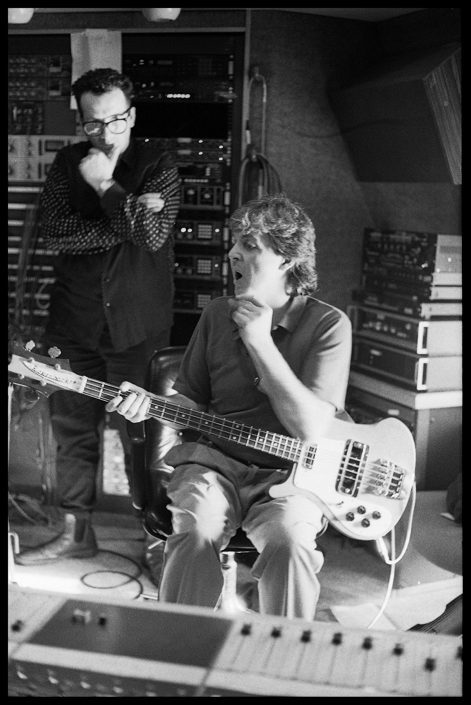 Inside Paul McCartney and Elvis Costello's Eighties Team-Up