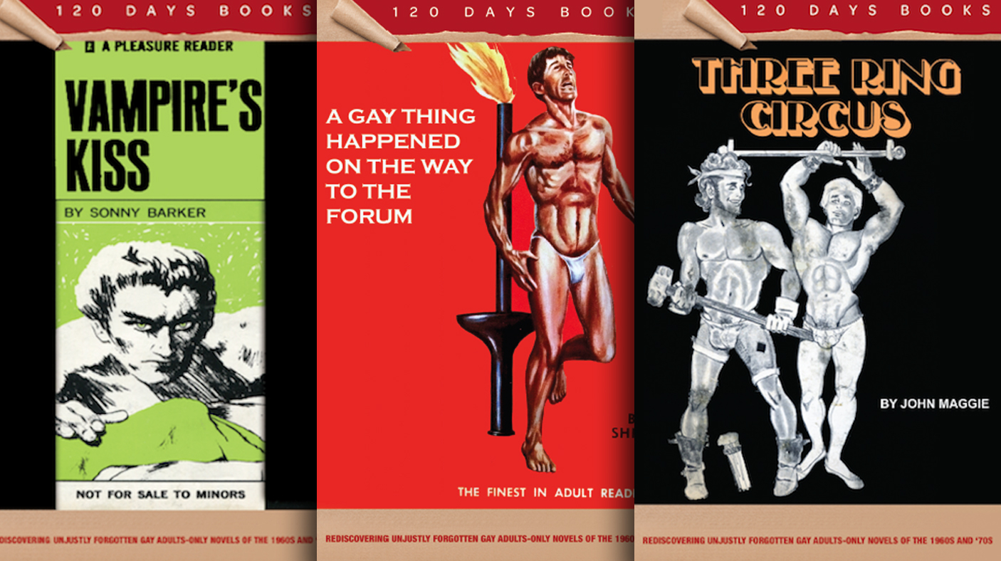 Gay male porn publishers