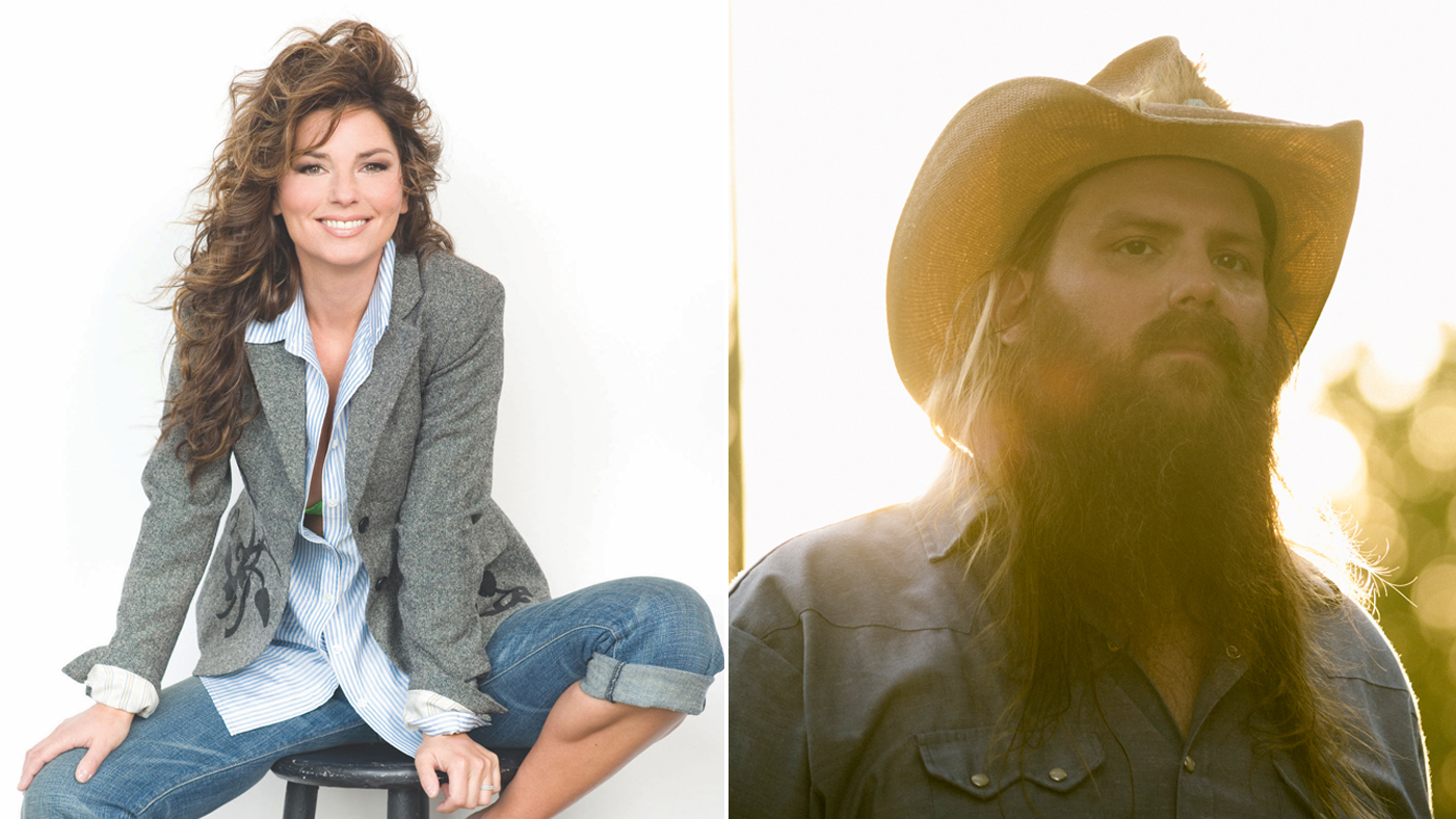Shania Twain, Chris Stapleton Set for \'Today\' Concert Series ...