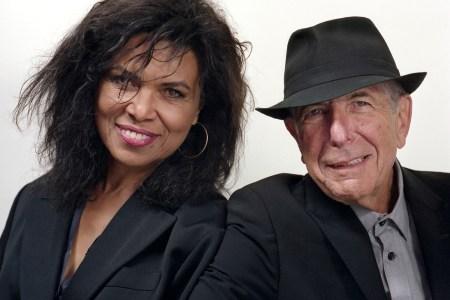 Sharon Robinson, Leonard Cohen Sharon Robinson, Leonard Cohen last tour