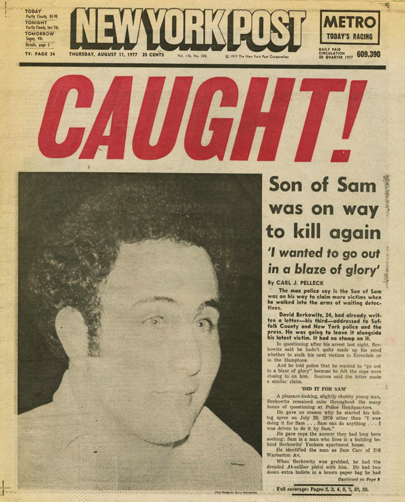How Son of Sam Changed America - Rolling Stone