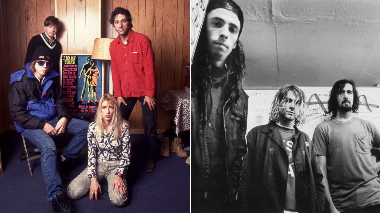 Sonic Youth and Nirvana European Tour