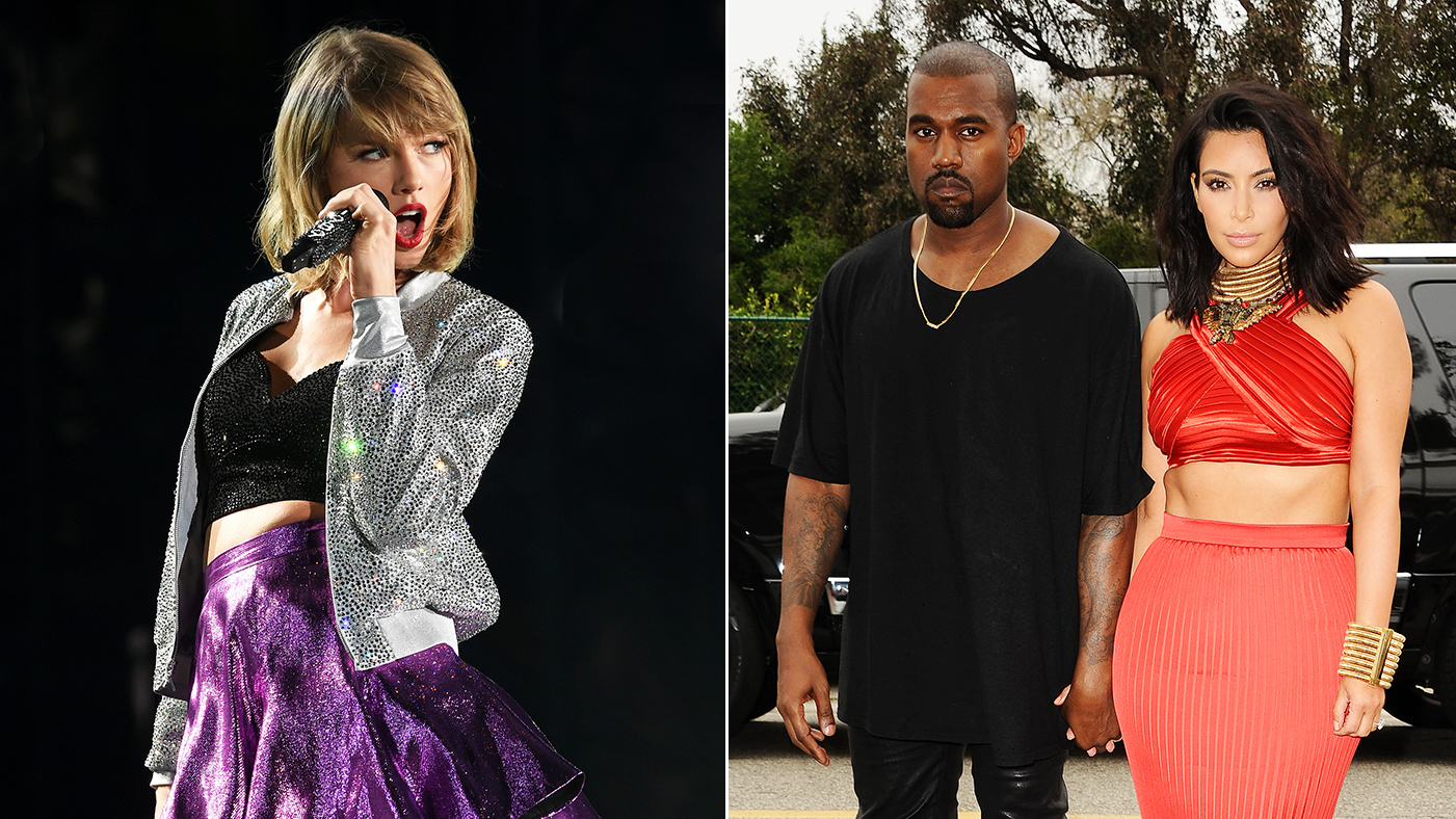 Taylor Swift Sue Kanye West Kim Kardashian Snapchat