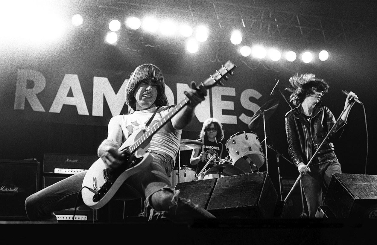 The Ramones European Tour