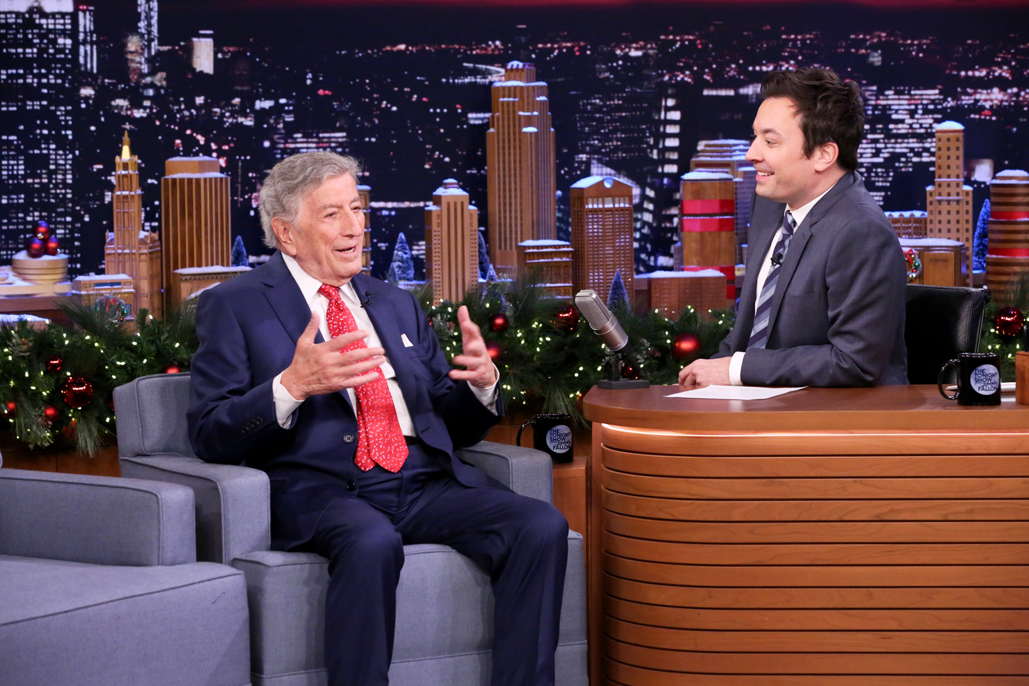 See Tony Bennett Recall Friendship With Frank Sinatra On Fallon Rolling Stone