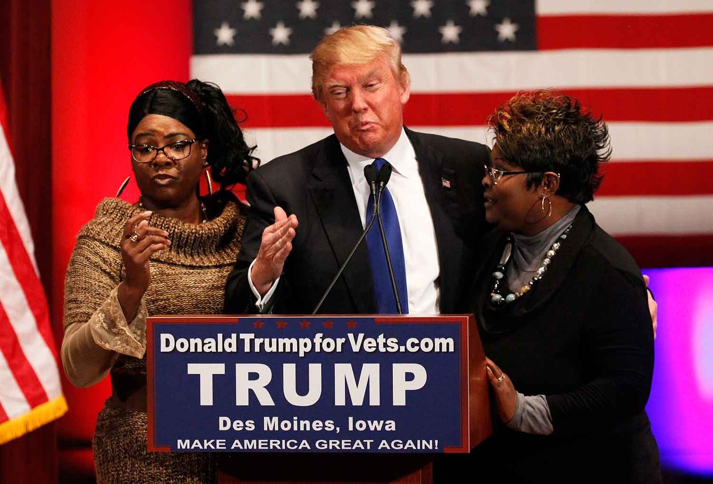 Diamond and Silk, Trump, Outspoken, Supporters, Donald Trump