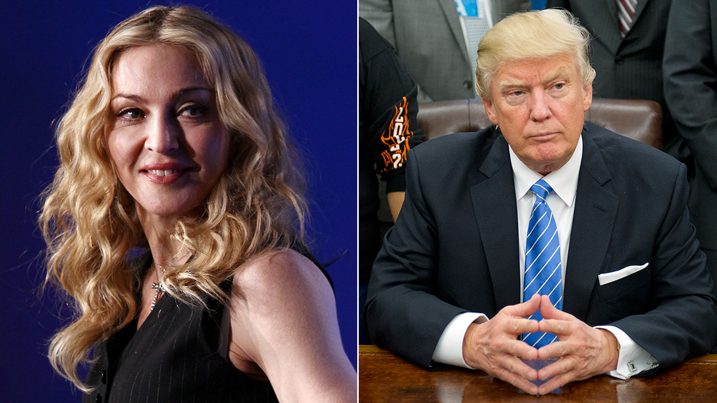 Donald Trump vs. Madonna: Everything We Know