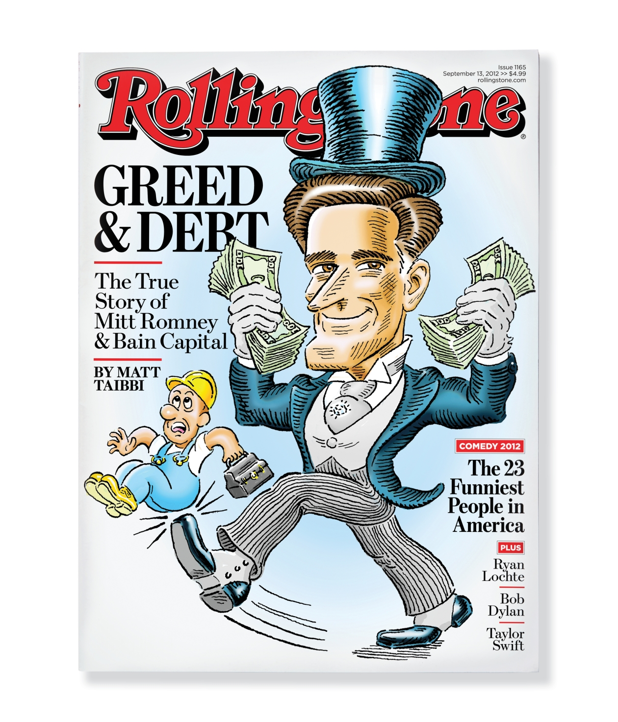 Nixon Marble Face: Illustrator Robert Grossman's 'Rolling Stone' Covers