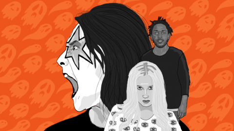 Ghost Stories From Kesha, Kendrick Lamar, Adele, Alice Cooper