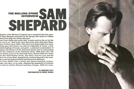 Sam Shepard: The Rolling Stone Interview – Rolling Stone