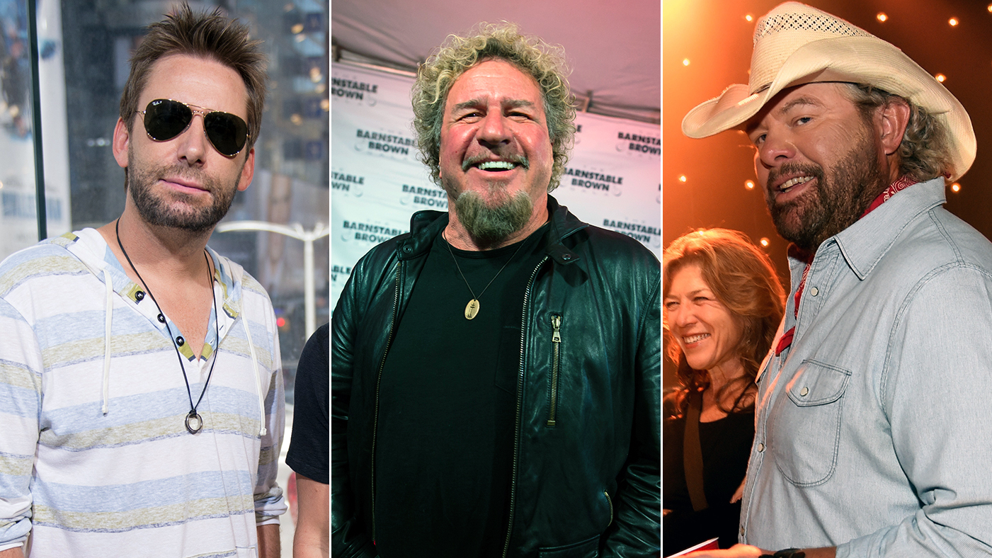 Sammy Hagar Recruits Toby Keith Chad Kroeger For 70th Birthday Film Rolling Stone