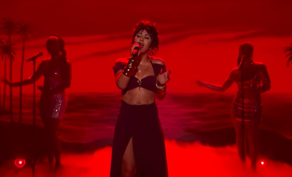 477fece2f067 See Kali Uchis s Dreamy  After the Storm  on  Fallon  – Rolling Stone