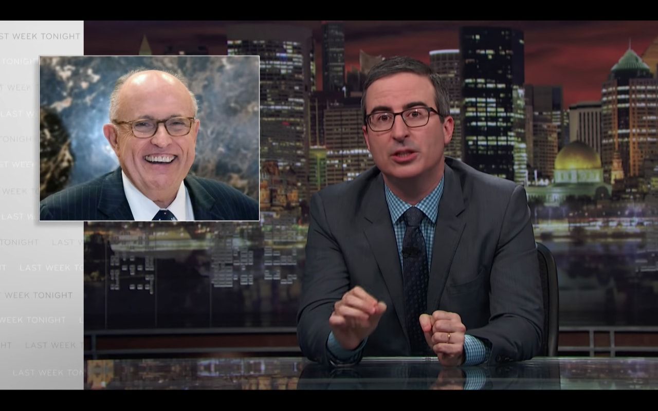 Watch John Oliver on Rudy Giuliani?s Bizarre ?Truth Isn?t Truth? Defense