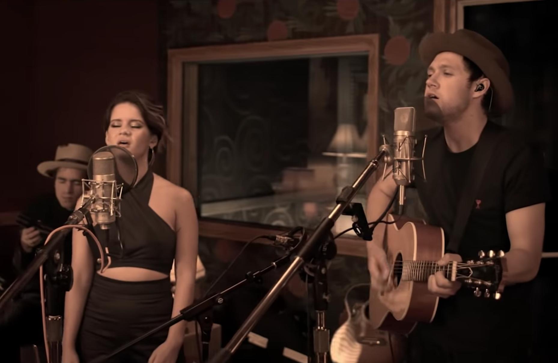See Niall Horan, Maren Morris Sing Acoustic 'Seeing Blind