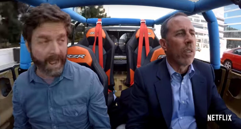 Jerry Seinfeld Matthew Broderick Tease New Comedians In