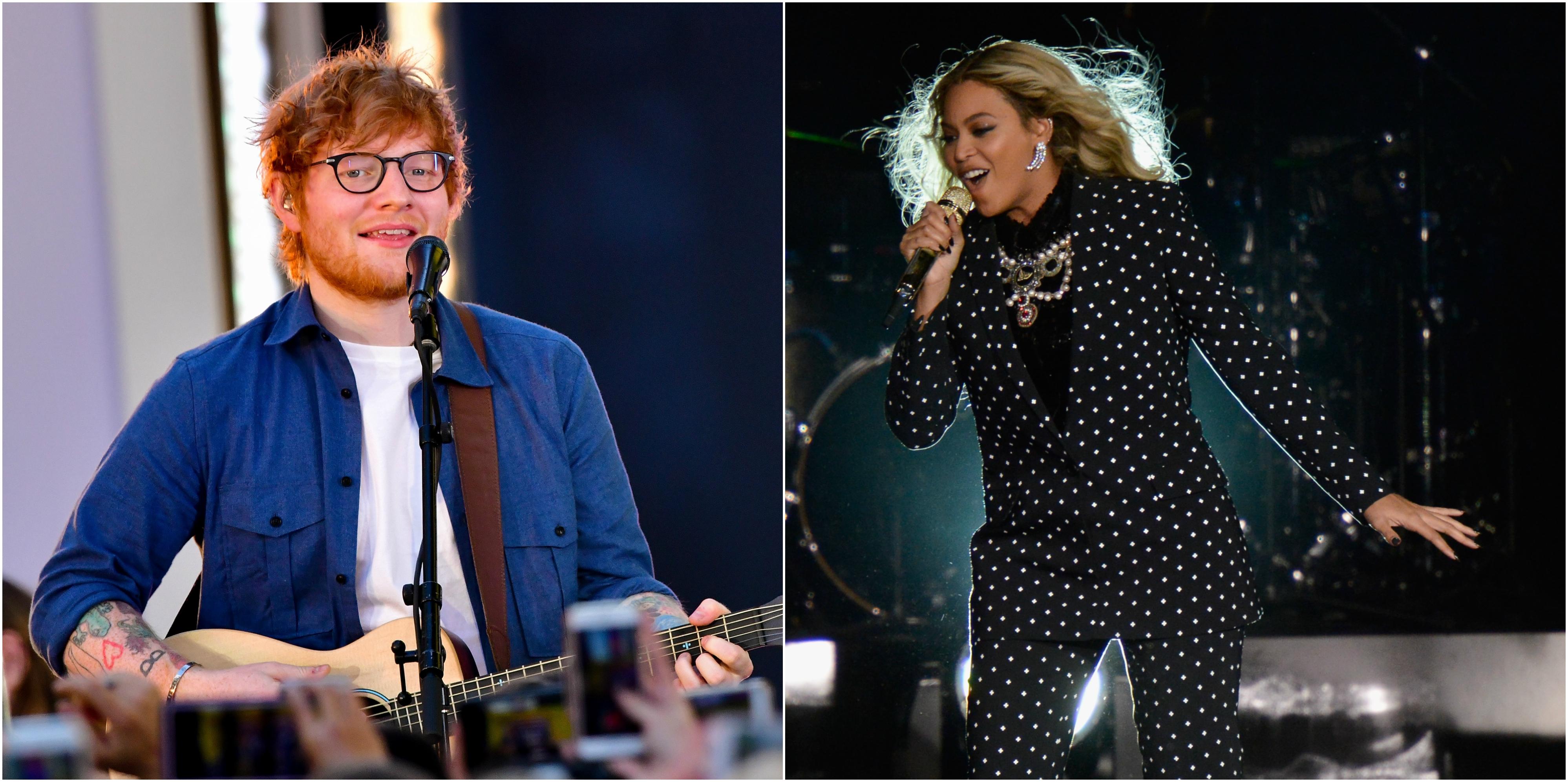 Hear Ed Sheeran, Beyonce Duet on New 'Perfect' Remix
