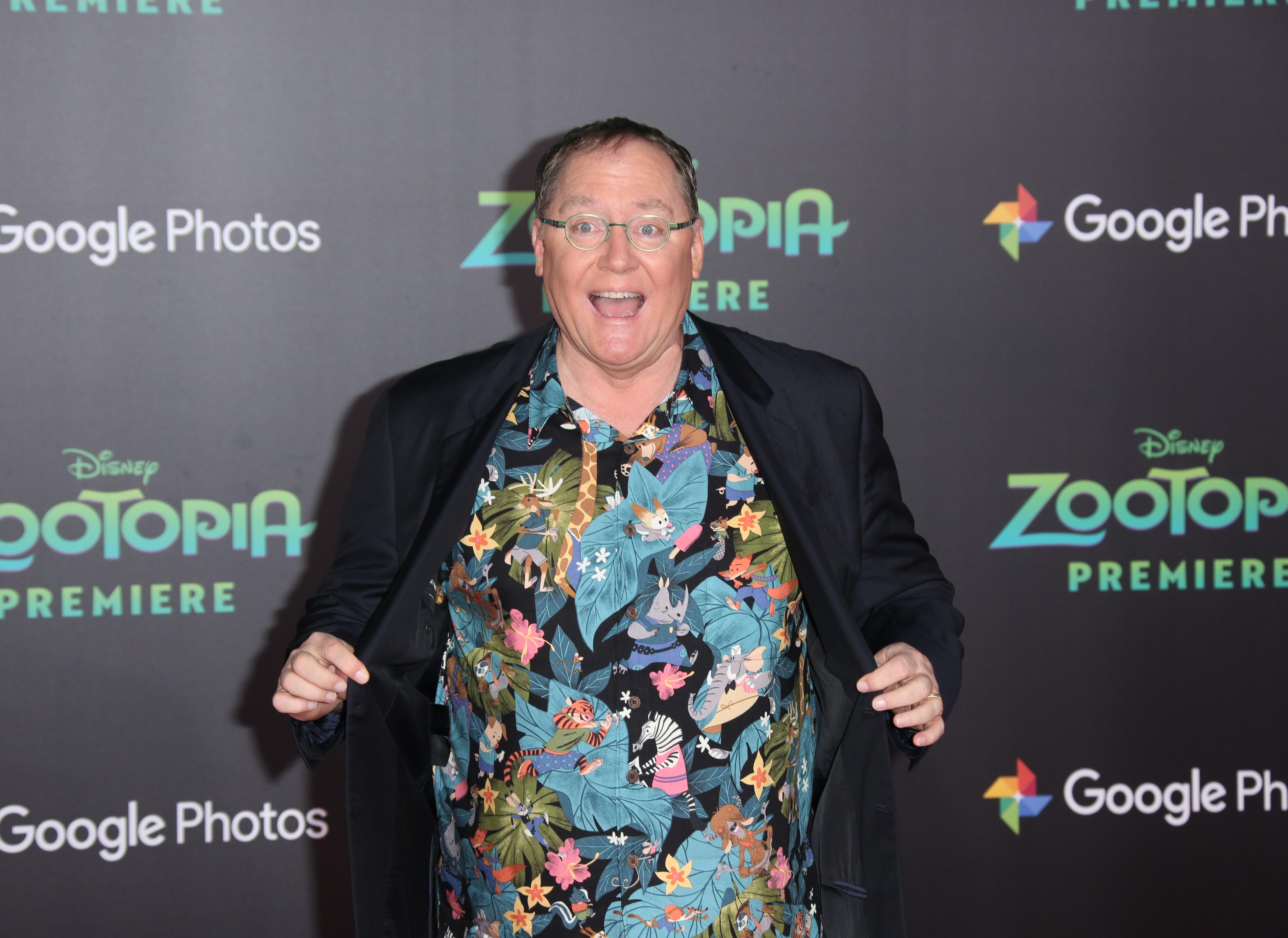 John Lasseter rashida jones