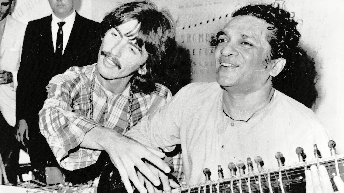 George Harrison Estate Launches Label For Indian Classical Music