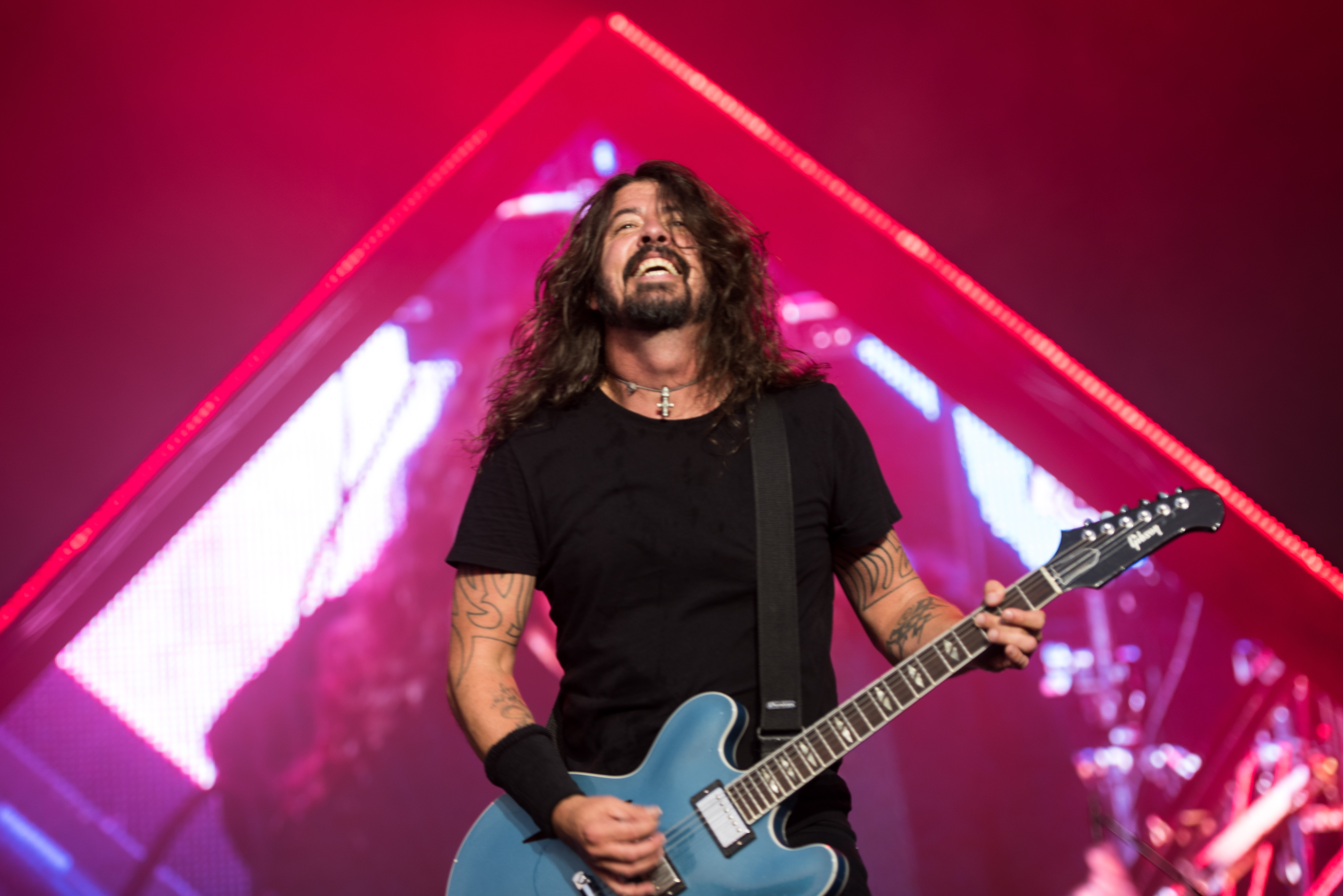 Watch Foo Fighters Prank Fans With Fake Stage Fall in Sweden