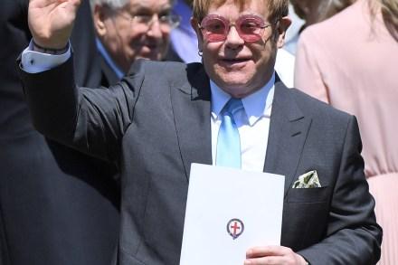 Elton John Performs at Royal Wedding Reception – Rolling Stone