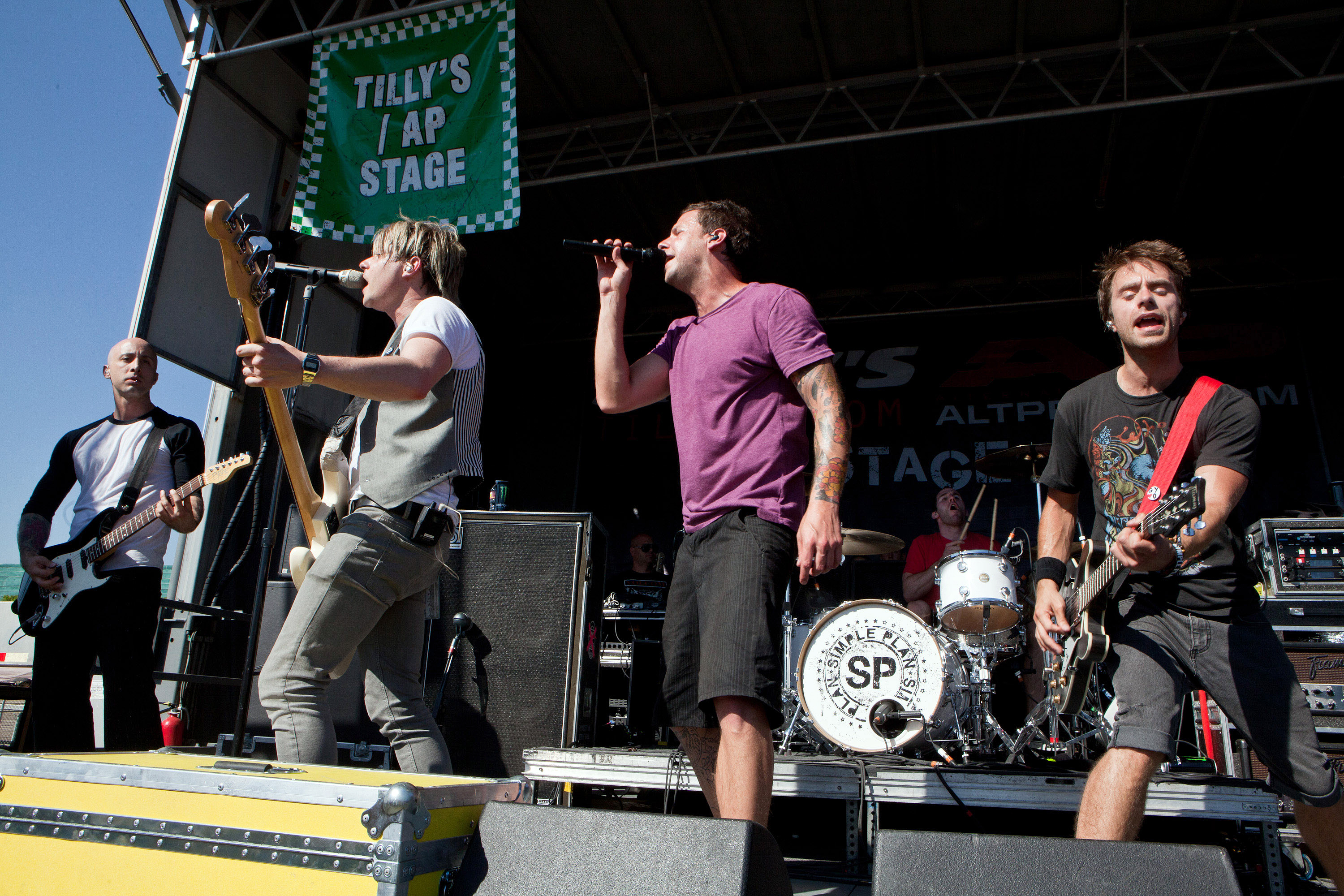 Simple Plan's Pierre Bouvier: Warped Tour Was 'an Experience Like No Other'