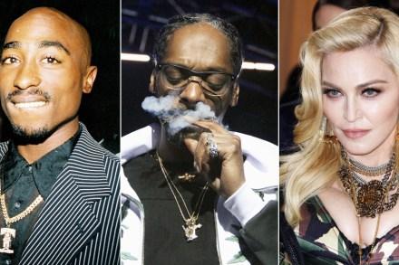 Snoop Dogg Tells Howard Stern About Tupac Bringing Madonna