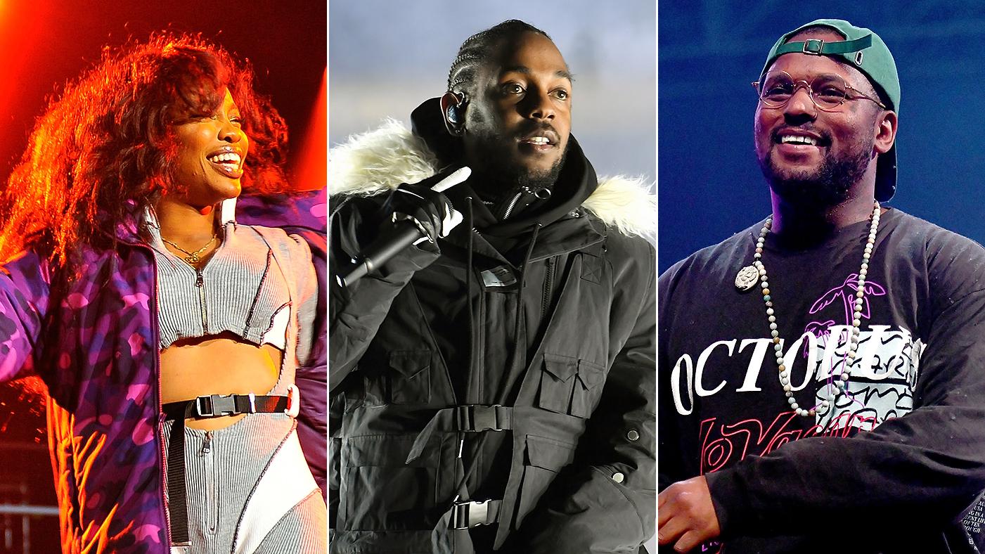 Kendrick Lamar Sza Schoolboy Q Lead Top Dawg Tour Rolling Stone