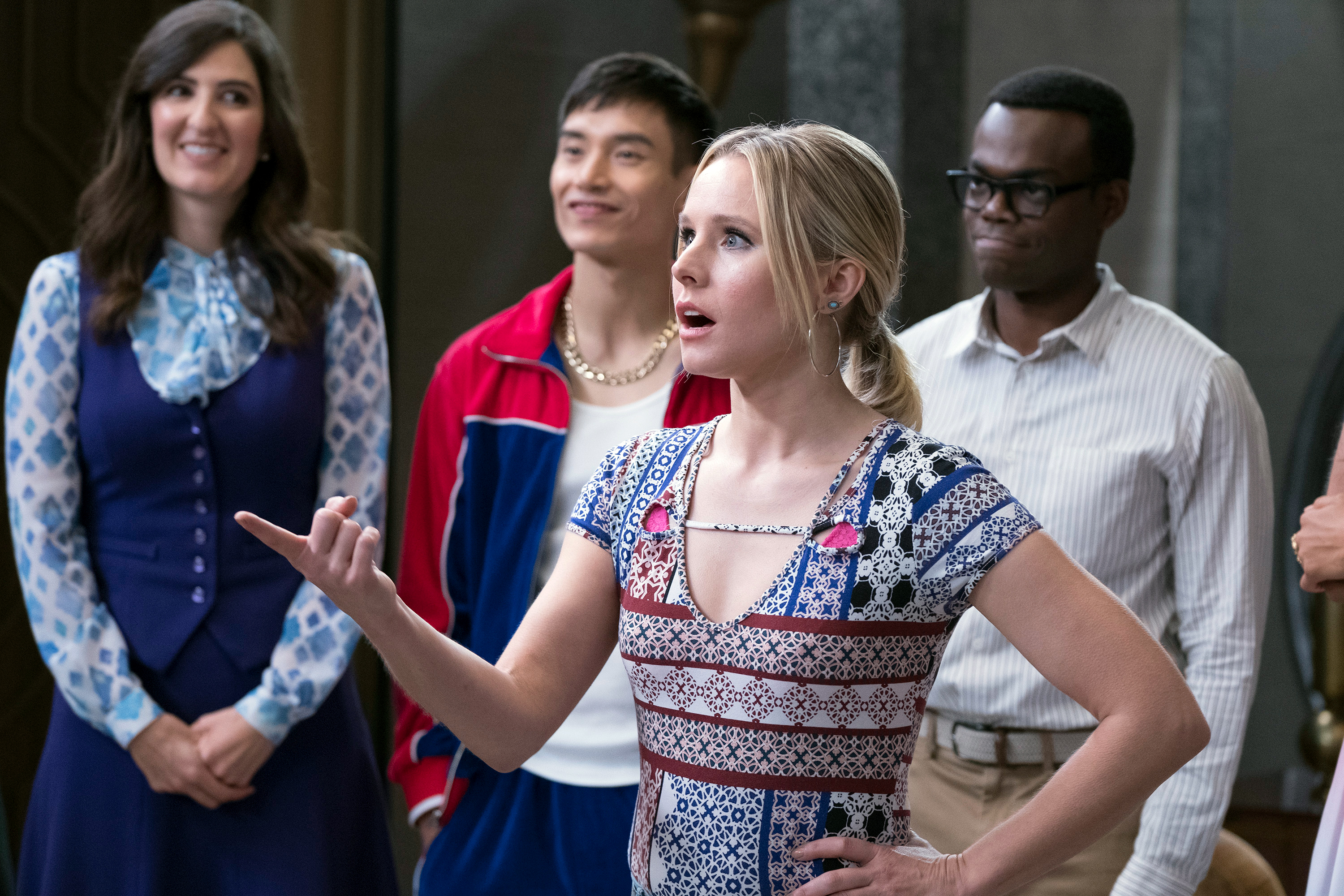 How The Good Place Turned Into Tvs Smartest Funniest