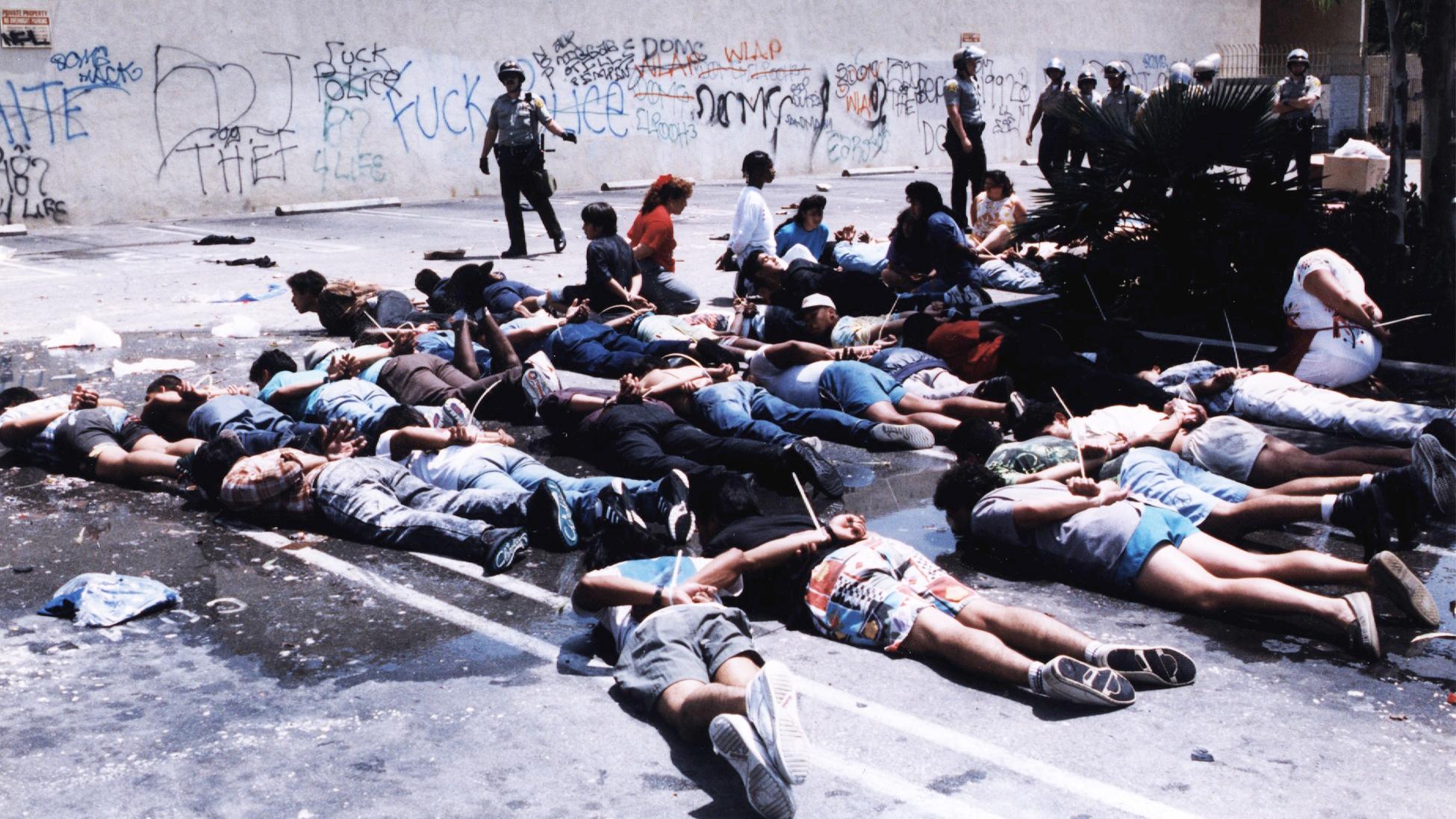 riots in california