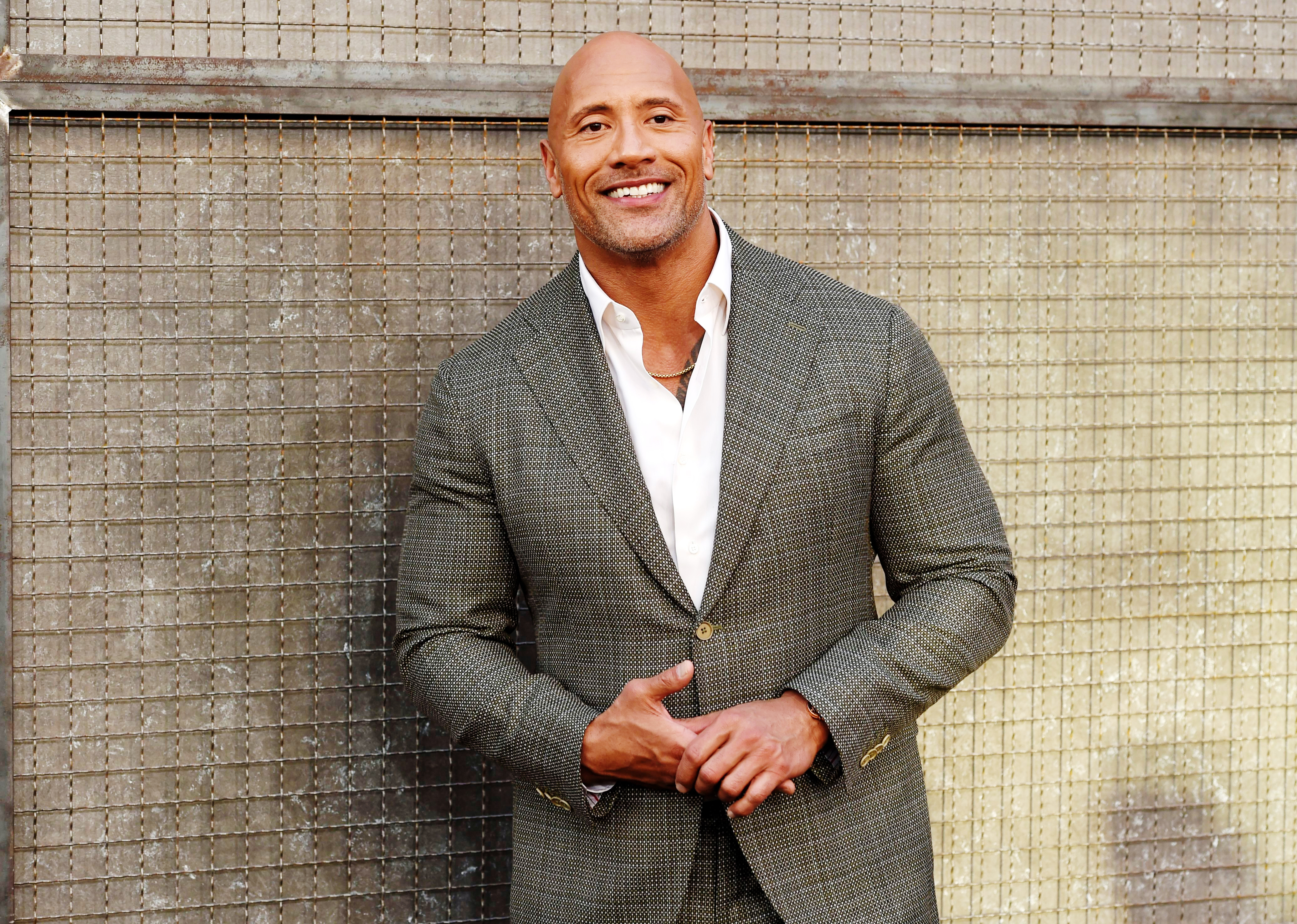 21 things we learned hanging out with dwayne johnson rolling stone rh rollingstone com
