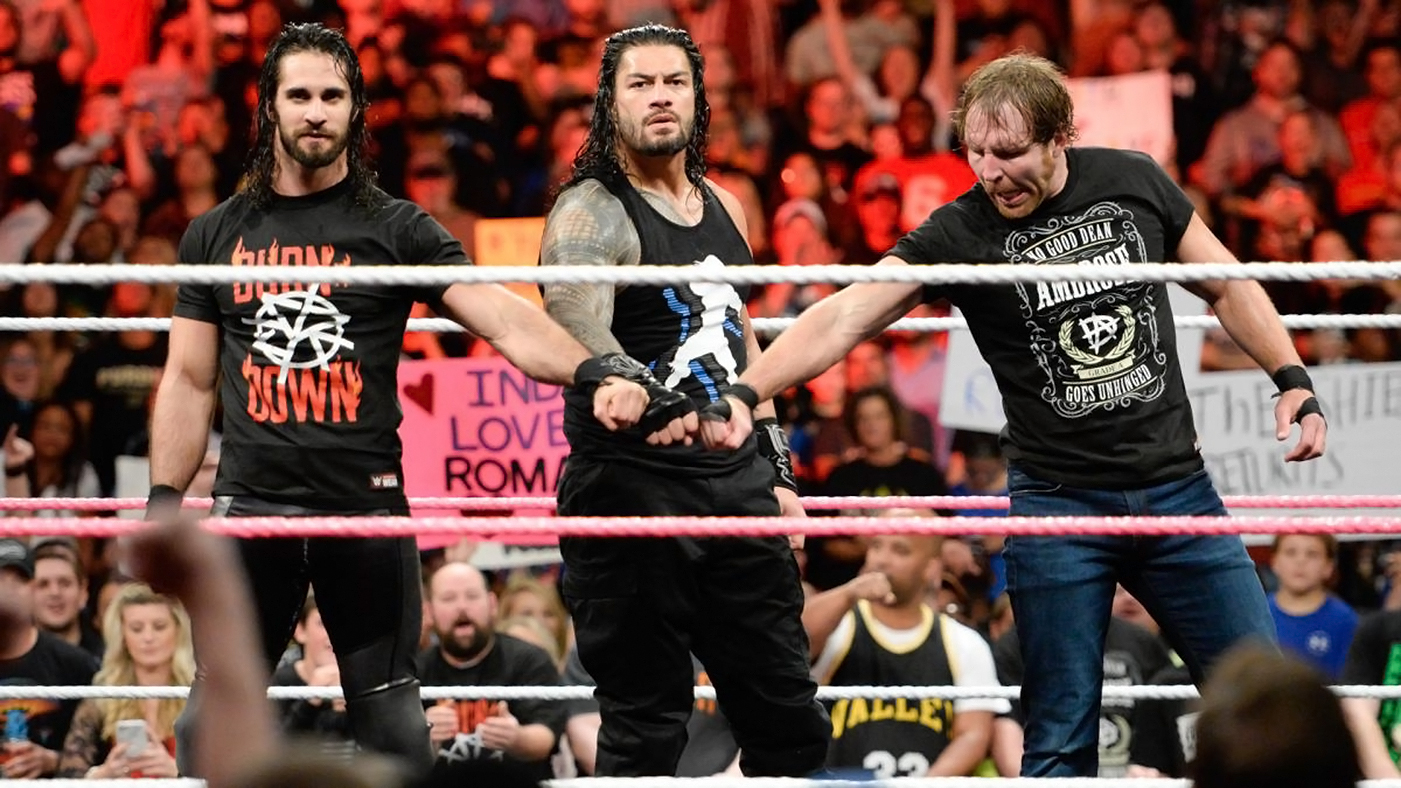 the shield reunite on wwe hounds of justice back rolling stone