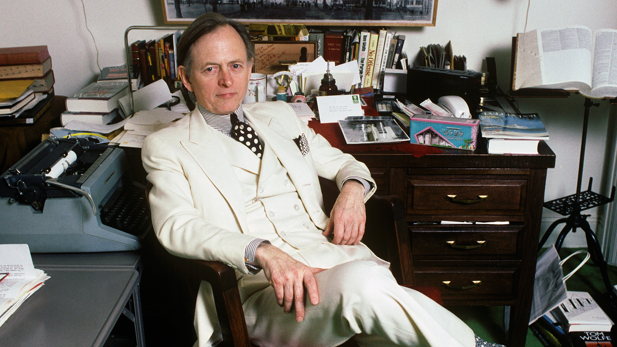 Tom Wolfe Right Stuff Author And New Journalism Legend
