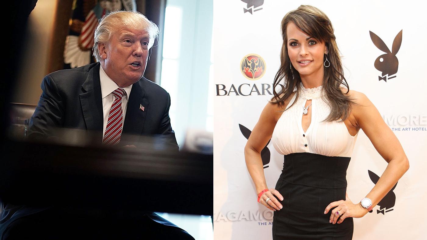 6b3d88dd23 Donald Trump Allegedly Had Affair With Playboy Model Karen Mcdougal