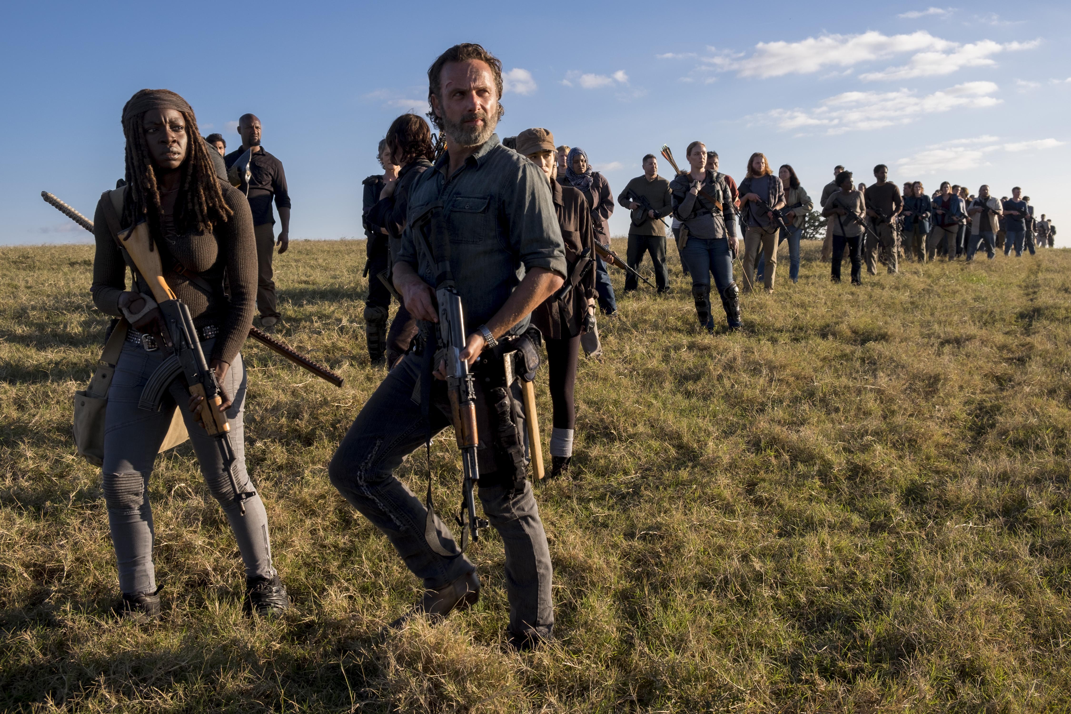 f3fdfa8368c The Walking Dead  Season Finale Recap  Boss Battle – Rolling Stone