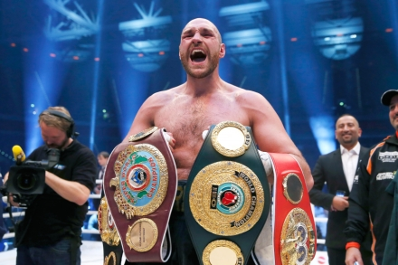 Tyson Fury: Boxing Champ Opens Up About Drug Use – Rolling Stone