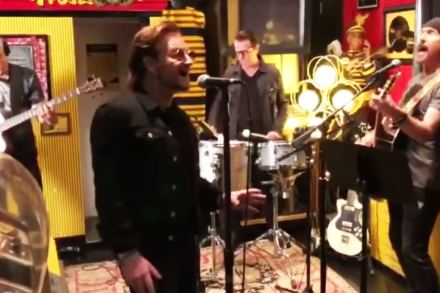 See U2 Perform New Song in Jack White's Third Man Records