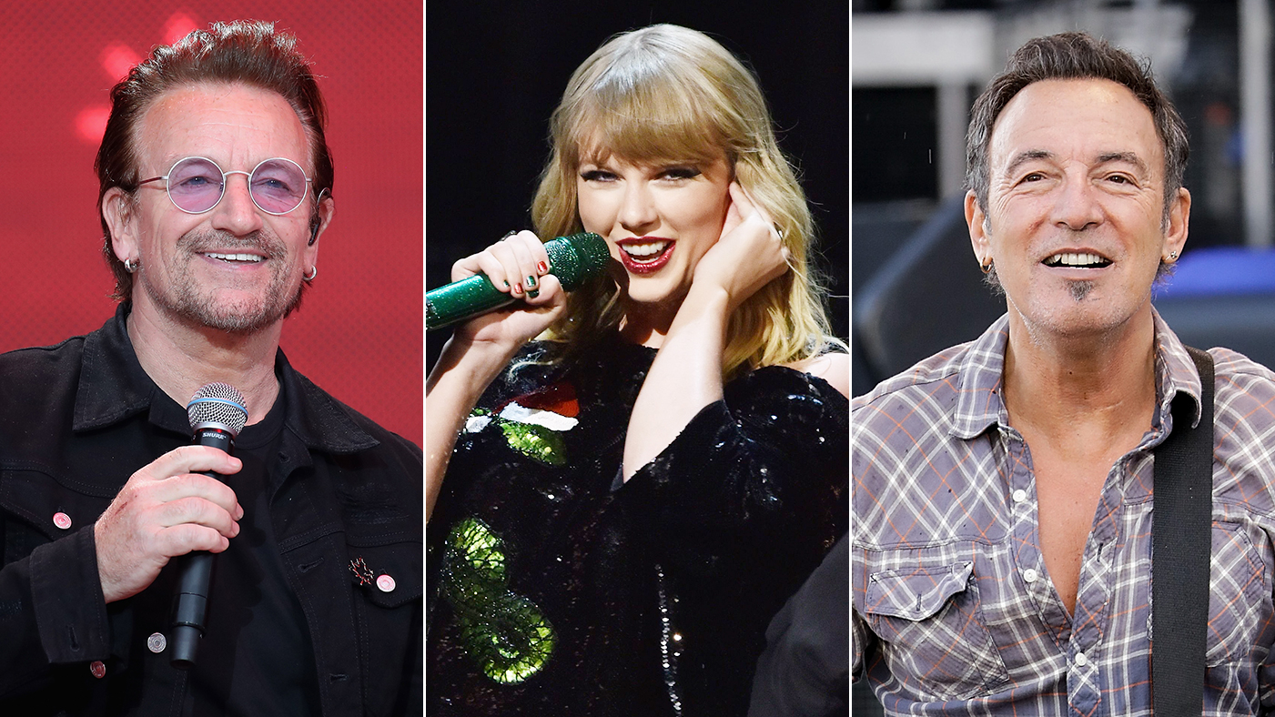U2 Taylor Swift Bruce Springsteen Prep Record Store Day