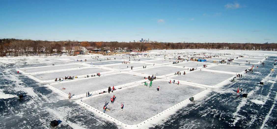 Pond Hockey S Field Of Dreams In Minneapolis Rolling Stone