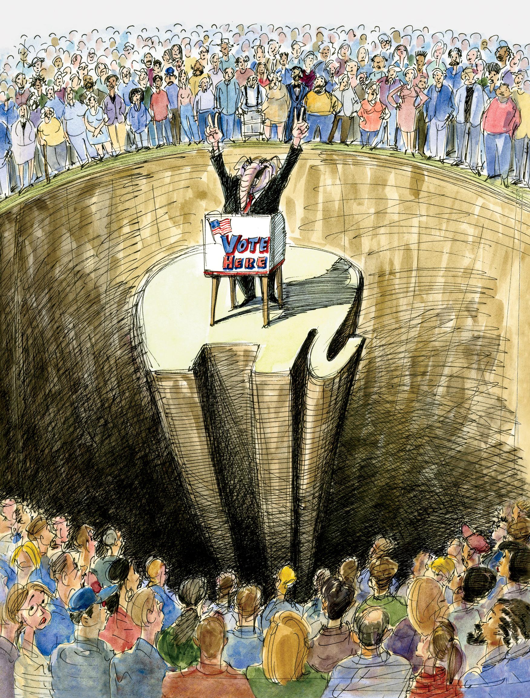 GOP Rigs Elections: Gerrymandering, Voter-ID Laws, Dark Money ...