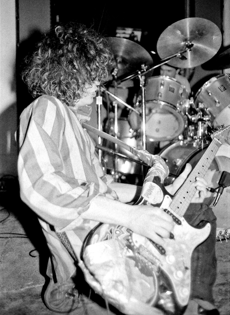 Wayne Coyne of the Flaming Lips performs at the I Beam in San Francisco on December 17th, 1985.