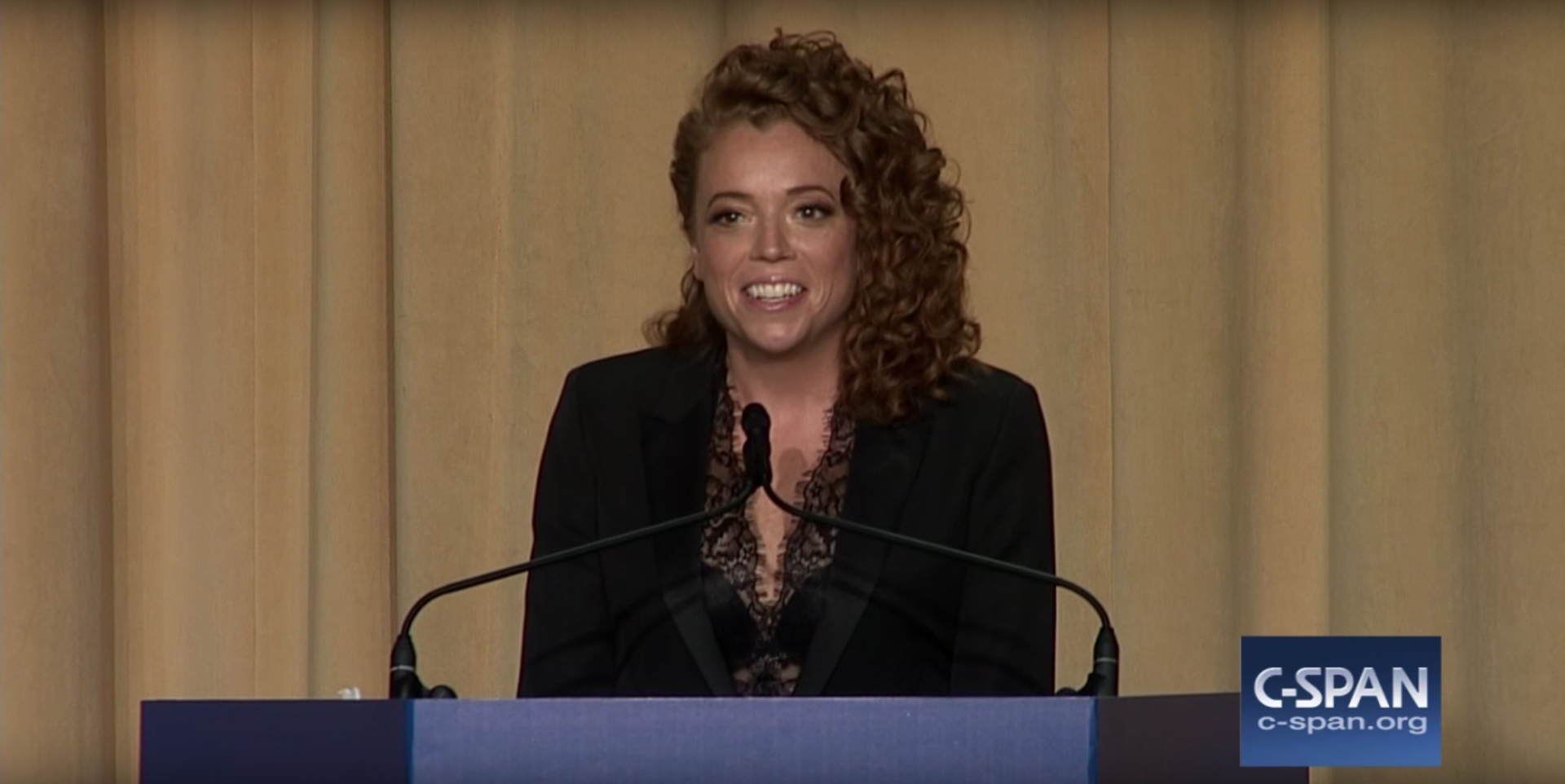 Edian Mice Wolf After Her Controversial Monologue At The White House Correspondents Dinner In April 2018 Tasos Katopodis Getty Images For Flix